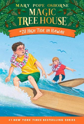 Magic Tree House #28 High Tide In Hawaii (Paperback)