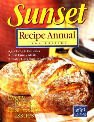Sunset Recipe Annual 1999 (Paperback)