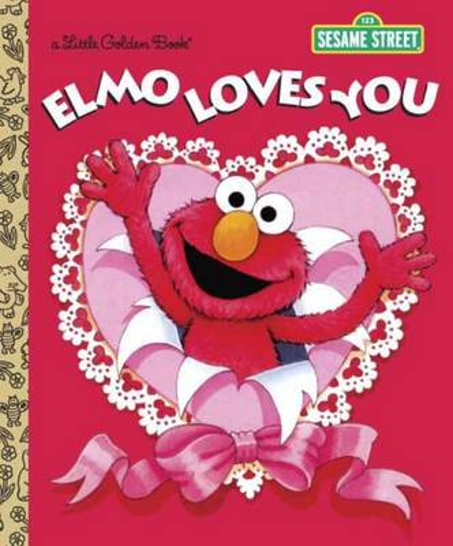 LGB Elmo Loves You (Sesame Street) (Hardback)