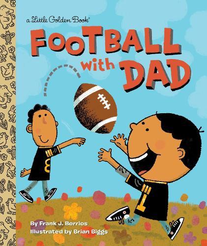 Football with Dad - Little Golden Book (Hardback)