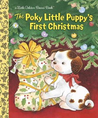 The Poky Little Puppy's First Christmas - Little Golden Books (Board book)