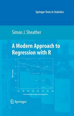 A Modern Approach to Regression with R - Springer Texts in Statistics (Hardback)