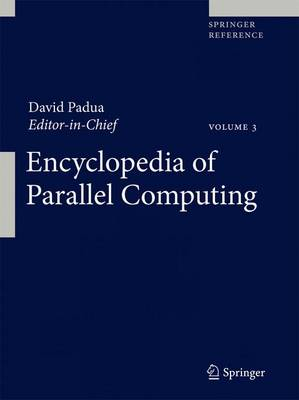 Encyclopedia of Parallel Computing
