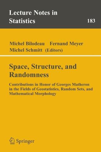 Space, Structure and Randomness: Contributions in Honor of Georges Matheron in the Fields of Geostatistics, Random Sets and Mathematical Morphology - Lecture Notes in Statistics 183 (Paperback)