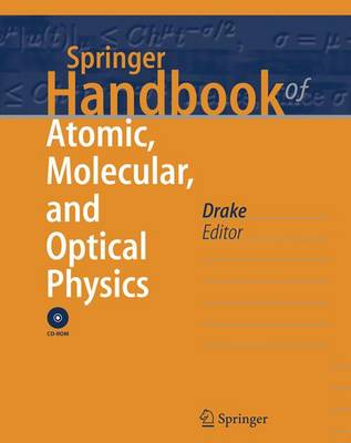 Springer Handbook of Atomic, Molecular, and Optical Physics - Springer Handbooks