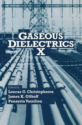Gaseous Dielectrics X (Hardback)