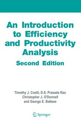 An Introduction to Efficiency and Productivity Analysis (Paperback)