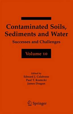 Contaminated Soils, Sediments and Water Volume 10: Successes and Challenges (Hardback)