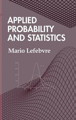 Applied Probability and Statistics (Hardback)