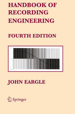 Handbook of Recording Engineering (Paperback)