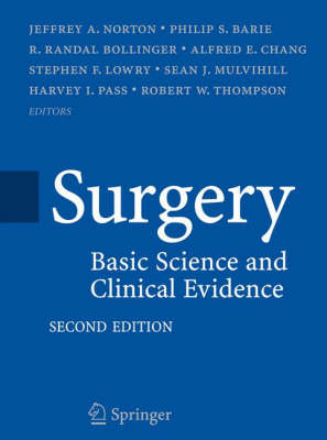 Surgery: Basic Science and Clinical Evidence (Hardback)