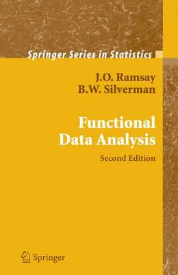 Functional Data Analysis - Springer Series in Statistics (Hardback)