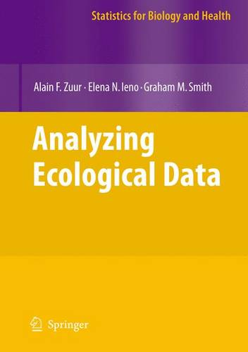 Analyzing Ecological Data - Statistics for Biology and Health (Hardback)
