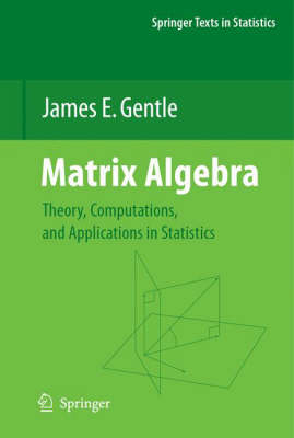 Matrix Algebra: Theory, Computations, and Applications in Statistics - Springer Texts in Statistics (Hardback)