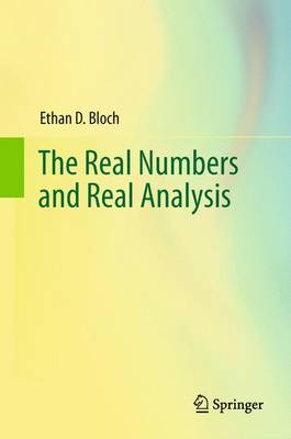 The Real Numbers and Real Analysis (Hardback)