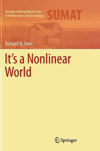 Cover It's a Nonlinear World - Springer Undergraduate Texts in Mathematics and Technology