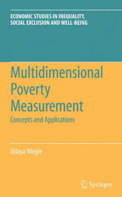 Multidimensional Poverty Measurement: Concepts and Applications - Economic Studies in Inequality, Social Exclusion and Well-Being 4 (Hardback)