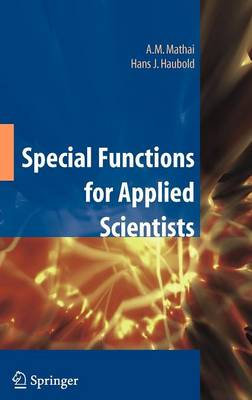 Special Functions for Applied Scientists (Hardback)
