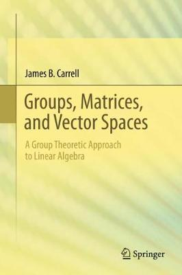 Groups, Matrices, and Vector Spaces: A Group Theoretic Approach to Linear Algebra (Hardback)