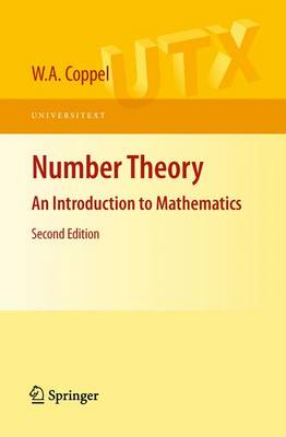 Number Theory: An Introduction to Mathematics - Universitext (Paperback)