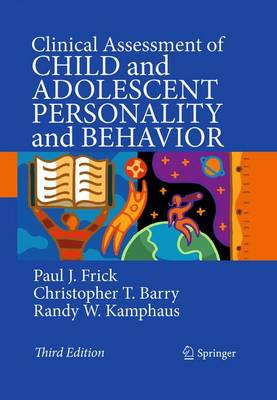 Clinical Assessment of Child and Adolescent Personality and Behavior (Hardback)