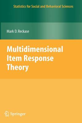 Multidimensional Item Response Theory - Statistics for Social and Behavioral Sciences (Hardback)