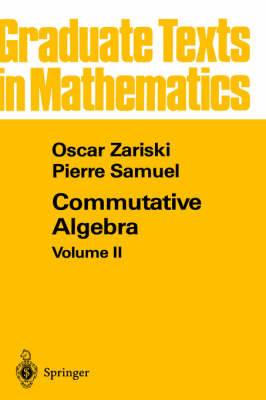 Commutative Algebra II - Graduate Texts in Mathematics 29 (Hardback)