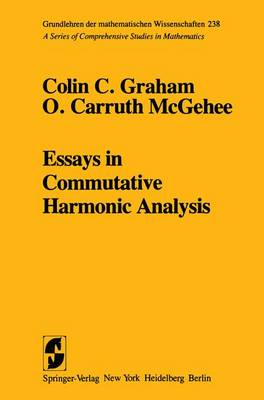 Essays in Commutative Harmonic Analysis (Hardback)