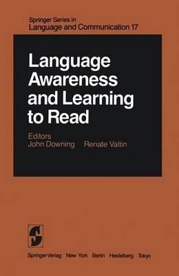Language Awareness and Learning to Read (Hardback)