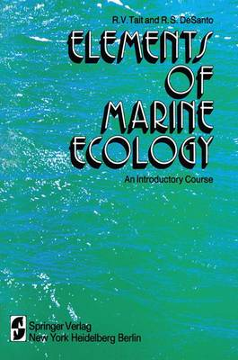 Elements of Marine Ecology: An Introductory Course (Hardback)