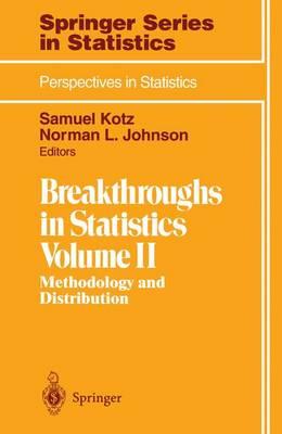 Breakthroughs in Statistics: Methodology and Distribution - Springer Series in Statistics (Paperback)