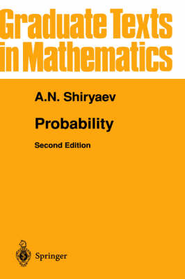 Probability: v. 95 - Graduate Texts in Mathematics v.95 (Hardback)