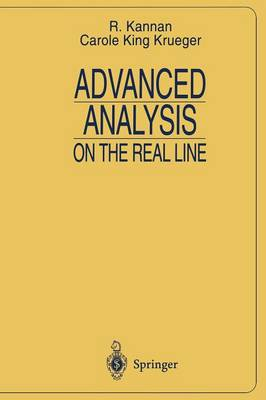 Advanced Analysis: on the Real Line - Universitext (Paperback)