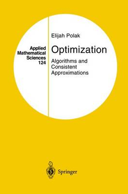 Optimization: Algorithms and Consistent Approximations - Applied Mathematical Sciences 124 (Hardback)