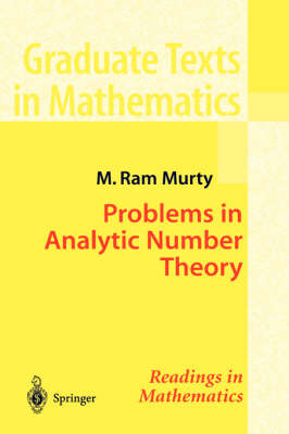 Problems in Analytic Number Theory - Graduate Texts in Mathematics v. 206 (Hardback)