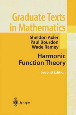 Harmonic Function Theory - Graduate Texts in Mathematics 137 (Hardback)