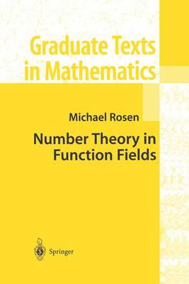 Number Theory in Function Fields - Graduate Texts in Mathematics 210 (Hardback)
