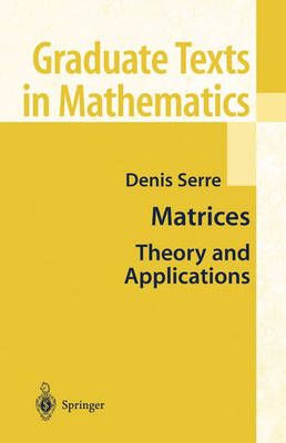 Matrices: Theory and Applications (Hardback)
