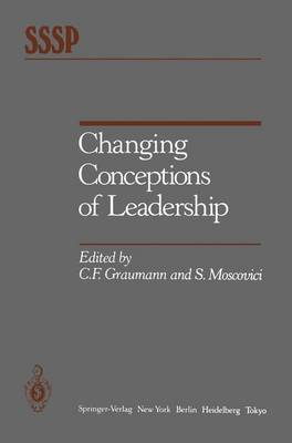 Changing Conceptions of Leadership (Hardback)