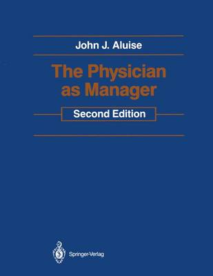 The Physician as Manager (Hardback)
