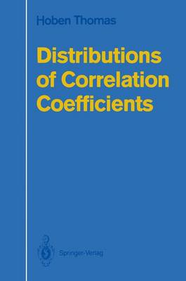 Distributions of Correlation Coefficients (Paperback)
