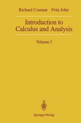 Introduction to Calculus and Analysis: Volume I (Hardback)