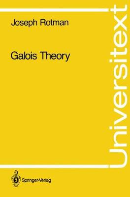 Galois Theory - Universitext (Paperback)