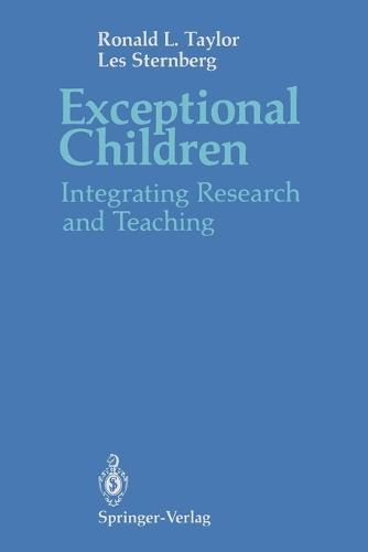 Exceptional Children: Integrating Research and Teaching (Paperback)