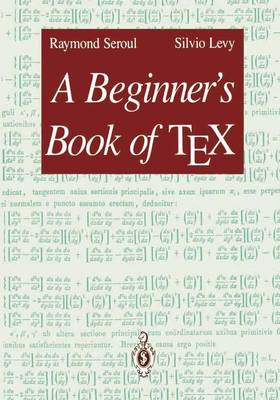 A Beginner's Book of TEX (Paperback)