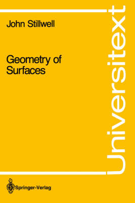 Geometry of Surfaces - Universitext (Paperback)