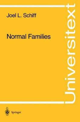 Normal Families - Universitext (Paperback)