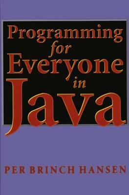 Programming for Everyone in Java (Paperback)