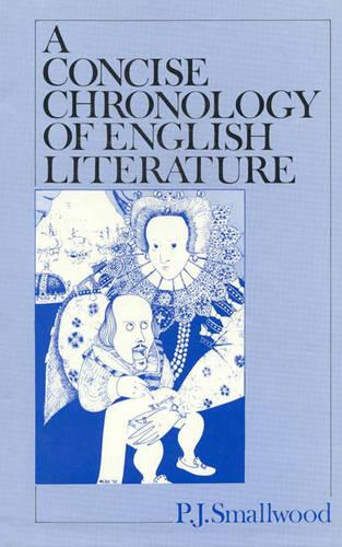 A Concise Chronology of English Literature (Hardback)