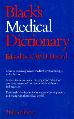 Black's Medical Dictionary (Hardback)